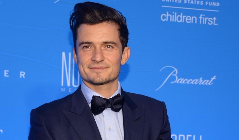 Orlando Bloom== The UNICEF Snow Flake Ball 2015== Cipriani Wall St, NYC== December 1, 2015== ©Patrick McMullan== Photo - Clint Spaulding/PMC== ==