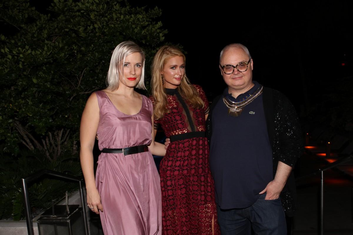 Mickey Boardman, Paris Hilton, Sara Larson
