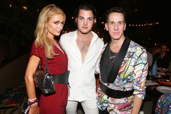 Jeremy Scott, Peter Brandt, Paris Hilton