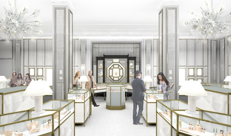 Bergdorf goodman 39 s redesigned jewelry salon opens soon - Bergdorf goodman salon ...