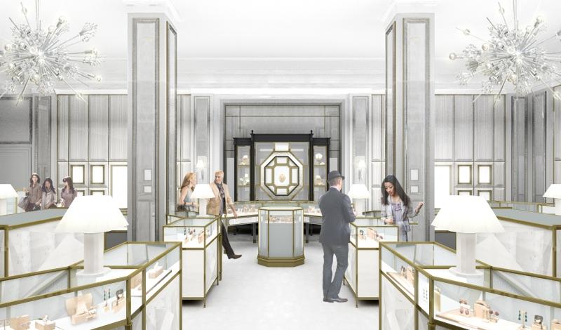 Fine Jewelry Room_Interior View
