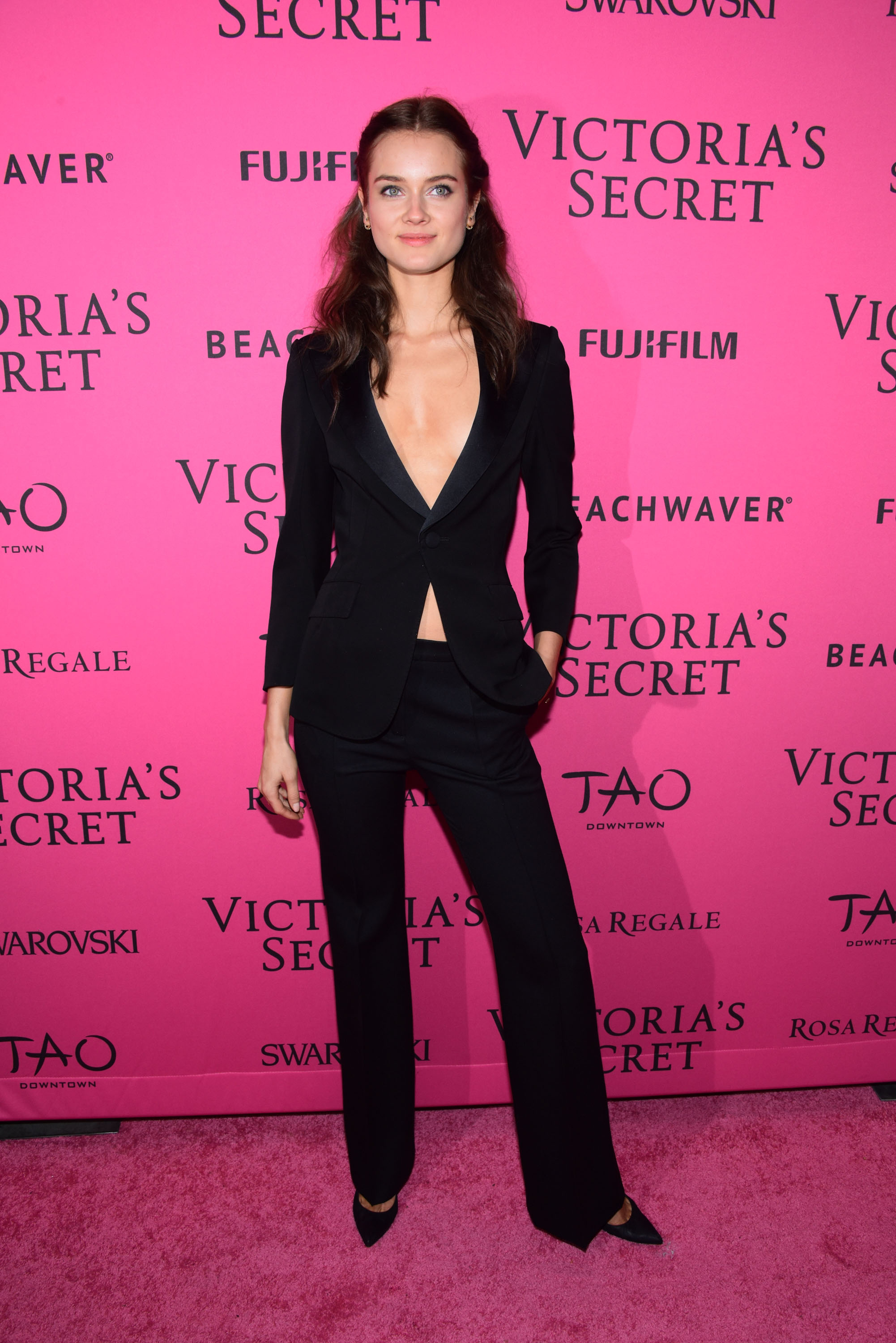 NEW YORK, NY - NOVEMBER 10: Monika Jagaciak attends the 2015 Victoria's Secret Fashion After Party at TAO Downtown on November 10, 2015 in New York City. (Photo by Grant Lamos IV/Getty Images)