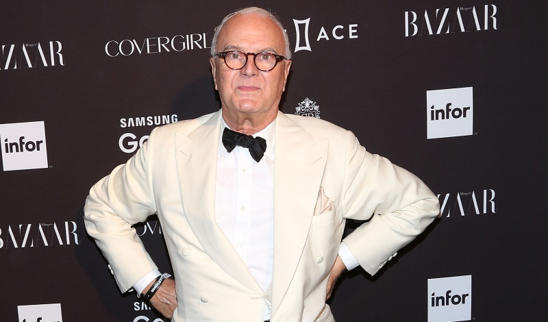 NEW YORK, NY - SEPTEMBER 16:  Manolo Blahnik attends the 2015 Harper ICONS Party at The Plaza Hotel on September 16, 2015 in New York City.  (Photo by Taylor Hill/FilmMagic)