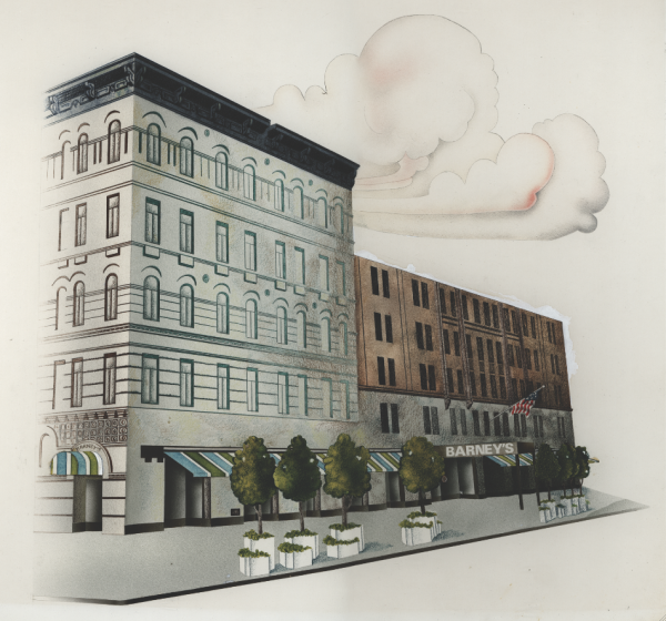 Illustration of Original Chelsea Store
