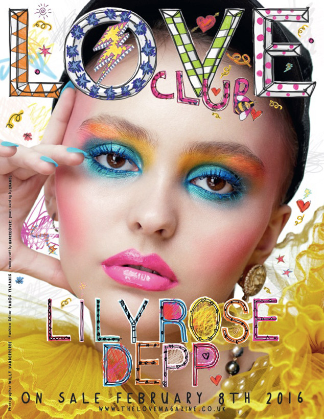 Love magazine Lily Rose Depp