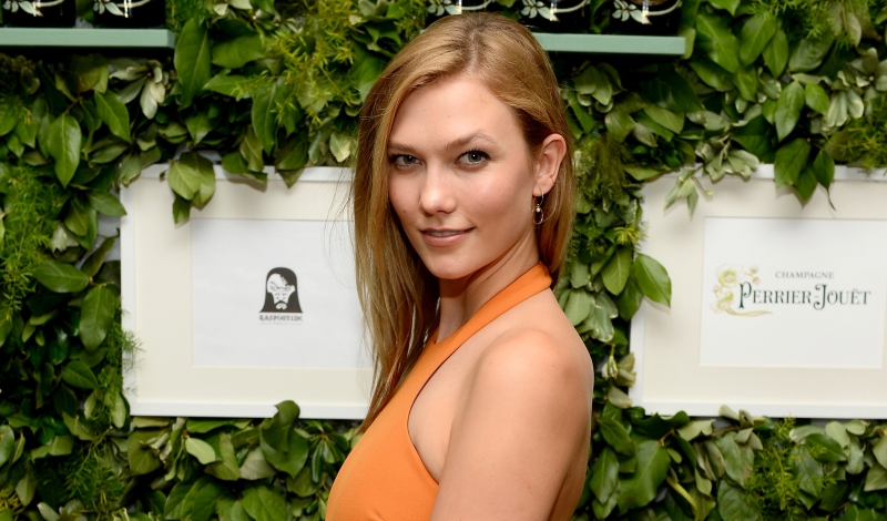 MIAMI, FL - DECEMBER 02: Model Karlie Kloss attends Raspoutine Paris Pop-up at L'Eden by Perrier Jouet at the Faena Hotel on December 2, 2015 in Miami, Florida. (Photo by Andrew Toth/Getty Images for Pernod Ricard USA)