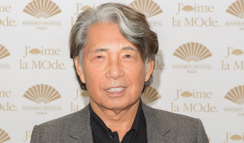 PARIS, FRANCE - SEPTEMBER 28:  Kenzo Takada attends the J'aime La Mode - Mandarin Oriental - Photocall at Hotel Mandarin Oriental on September 28, 2015 in Paris, France.  (Photo by Dominique Charriau/WireImage)