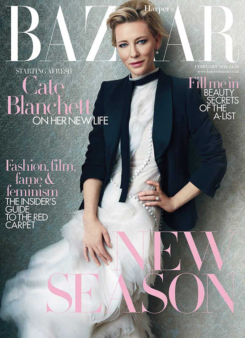 Cate-Blanchett-Harpers-Bazaar-UK-February-2016-Cover