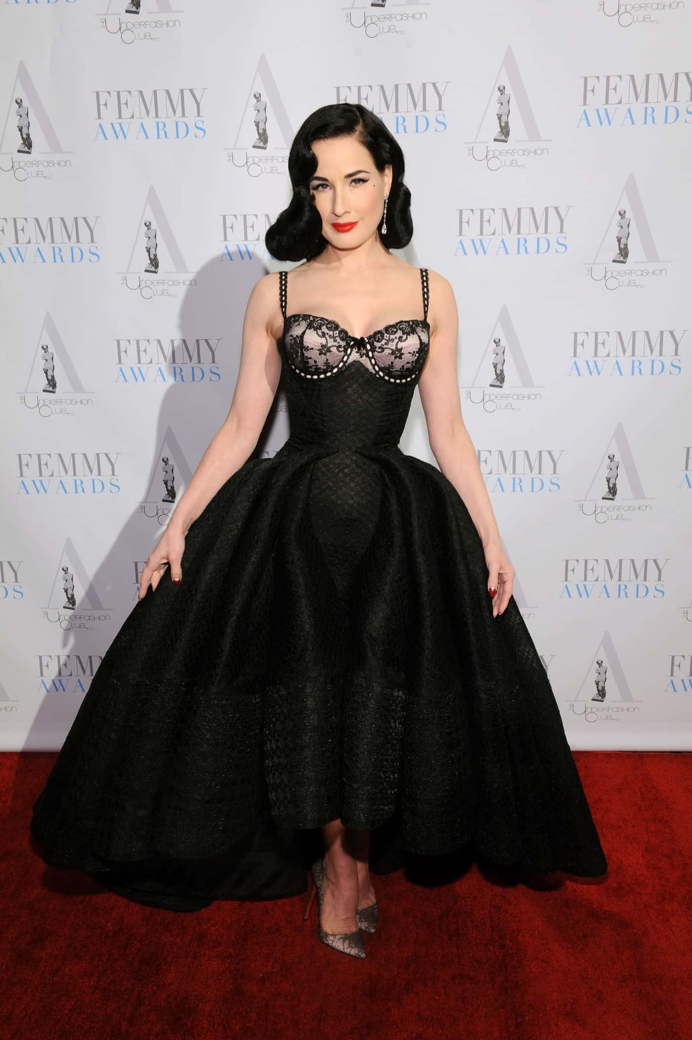 12f6478e0 Valentine s Day Dish with Dita Von Teese - Daily Front Row