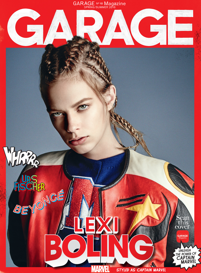 GARAGE Magazine Turns Supermodels Into Superheroes Daily Front Row - Magazines look superheroes real