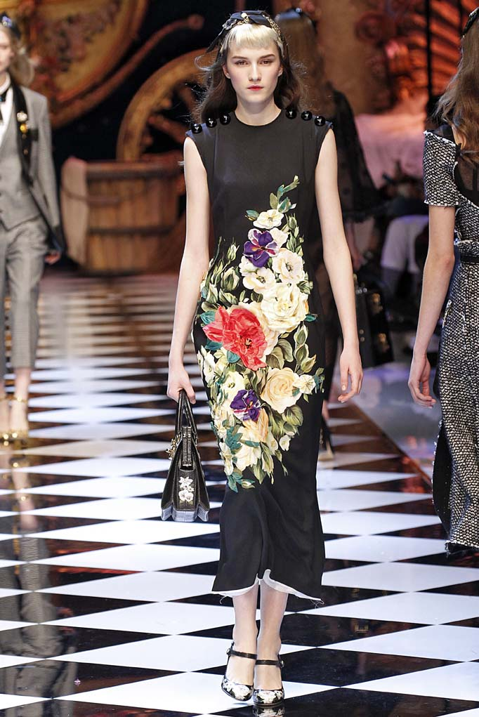 Dolce Gabbana Milan RTW Fall Winter 2016 February 2016