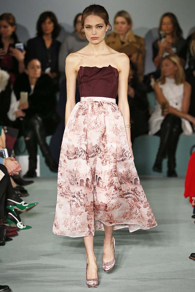 Oscar de la Renta New York RTW Fall Winter 2016 February 2016