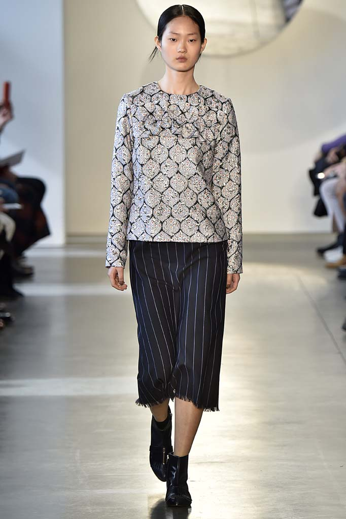 Suno New York RTW Fall Winter 2016 February 2016