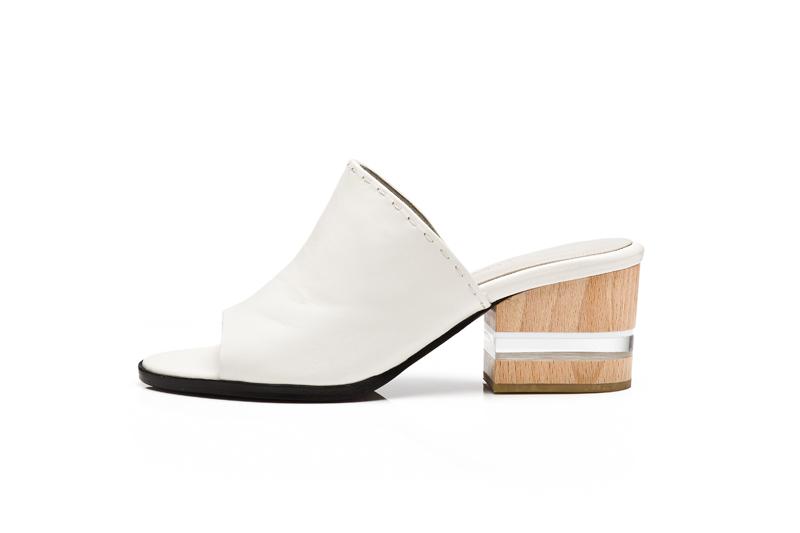 $545_Dear Frances_Poser mule white