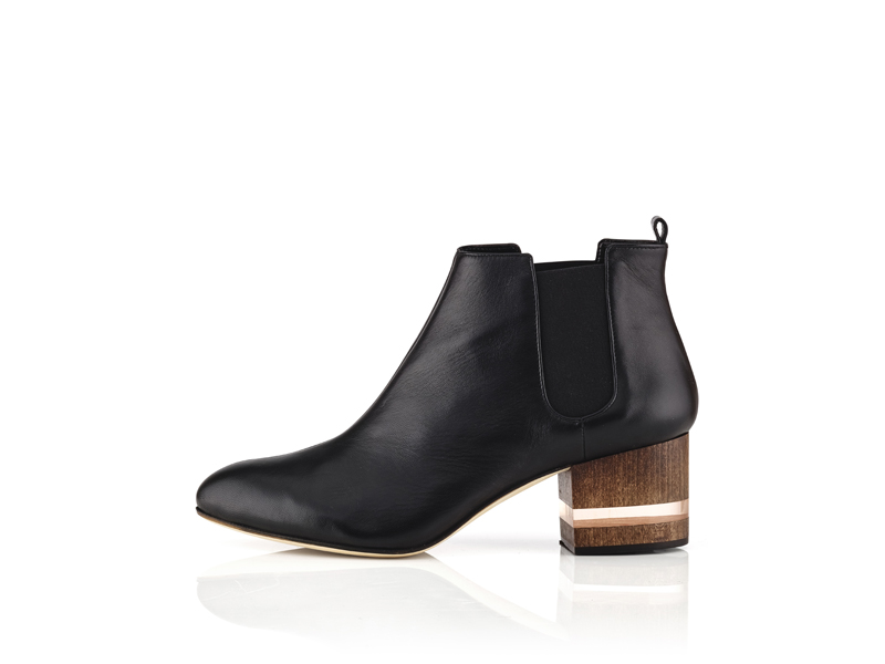 $590_Dear Frances_Black Float Boot