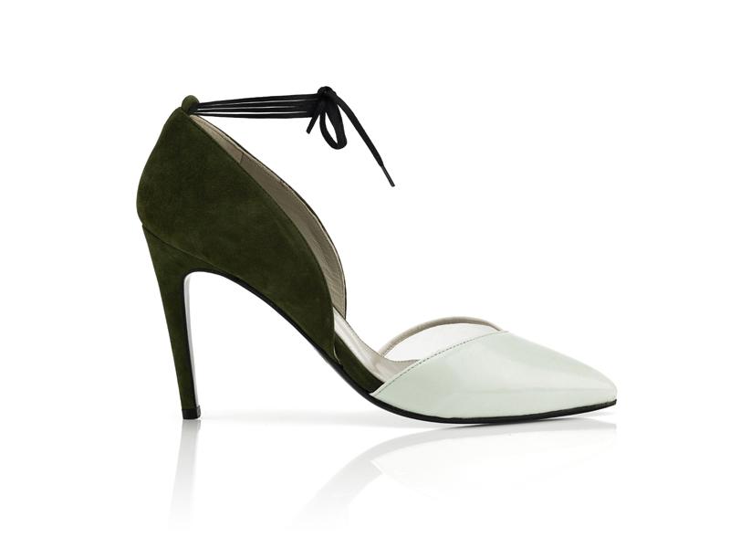 $590_Dear Frances_Marli pump mint