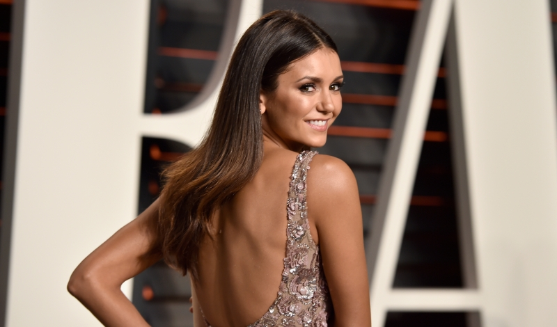 BEVERLY HILLS, CA - FEBRUARY 28:  Actress Nina Dobrev attends the 2016 Vanity Fair Oscar Party Hosted By Graydon Carter at the Wallis Annenberg Center for the Performing Arts on February 28, 2016 in Beverly Hills, California.  (Photo by Pascal Le Segretain/Getty Images)
