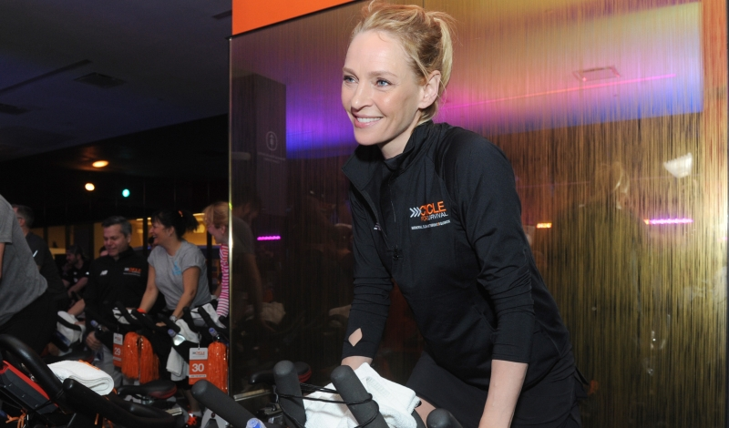 Uma Thurman Rides at Cycle for Survival_v2