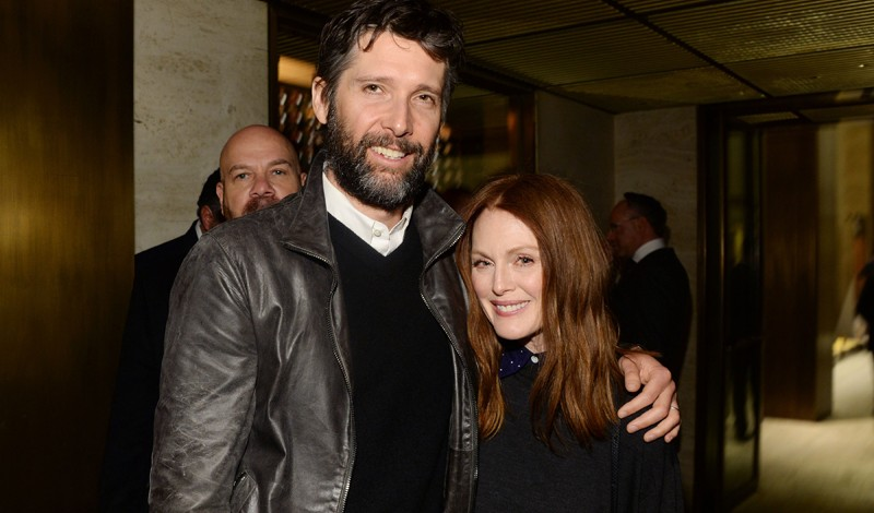 Bart Freundlich, Julianne Moore==The Hollywood Reporter's 5th Annual 35 Most Powerful People in New York Media==The Four Seasons, New York==April 06, 2016==©Patrick McMullan==Photo- Clint Spaulding/PMC== ==