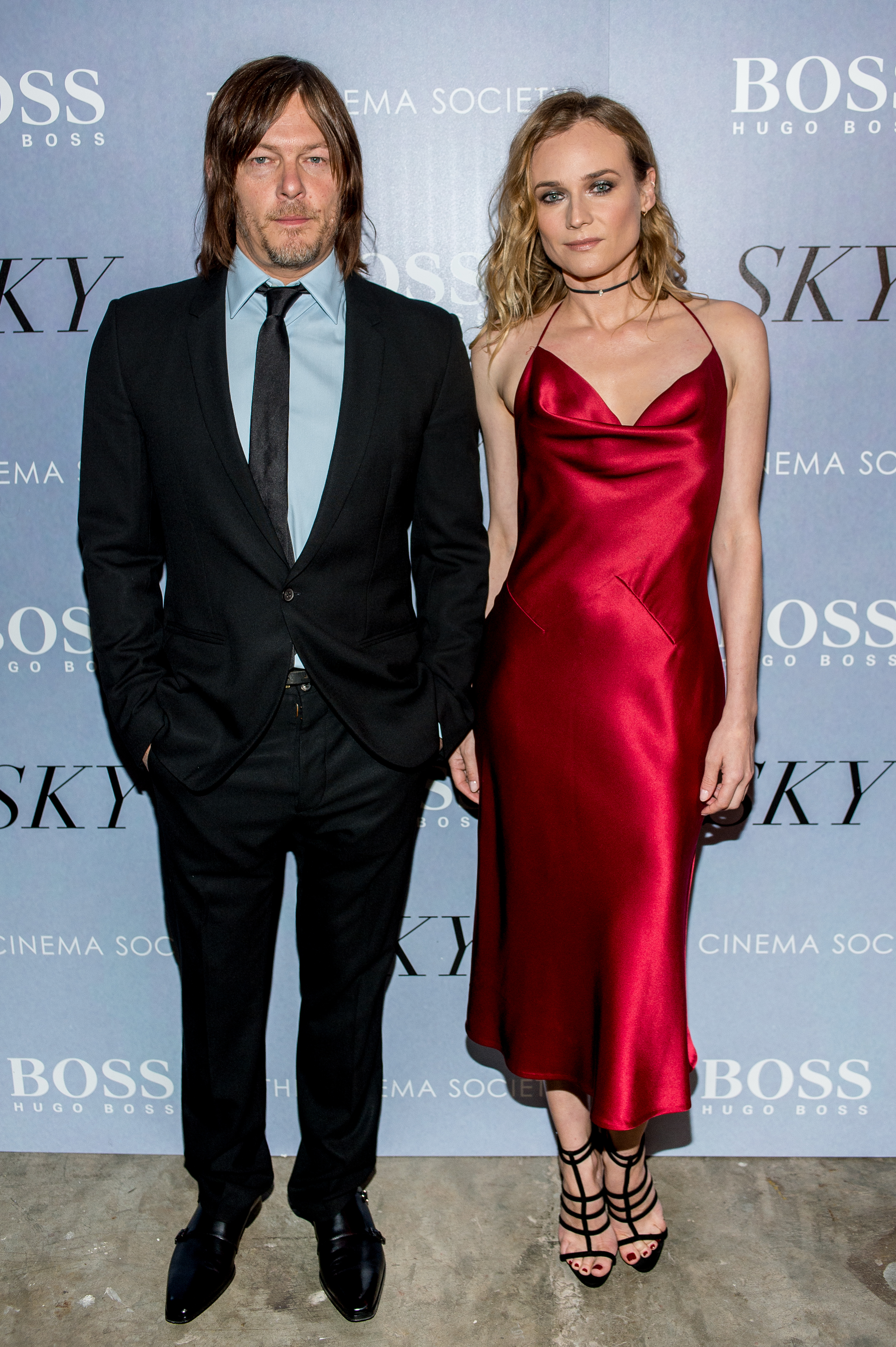 Diane Kruger And Norman Reedus Celebrate Their New Film Sky