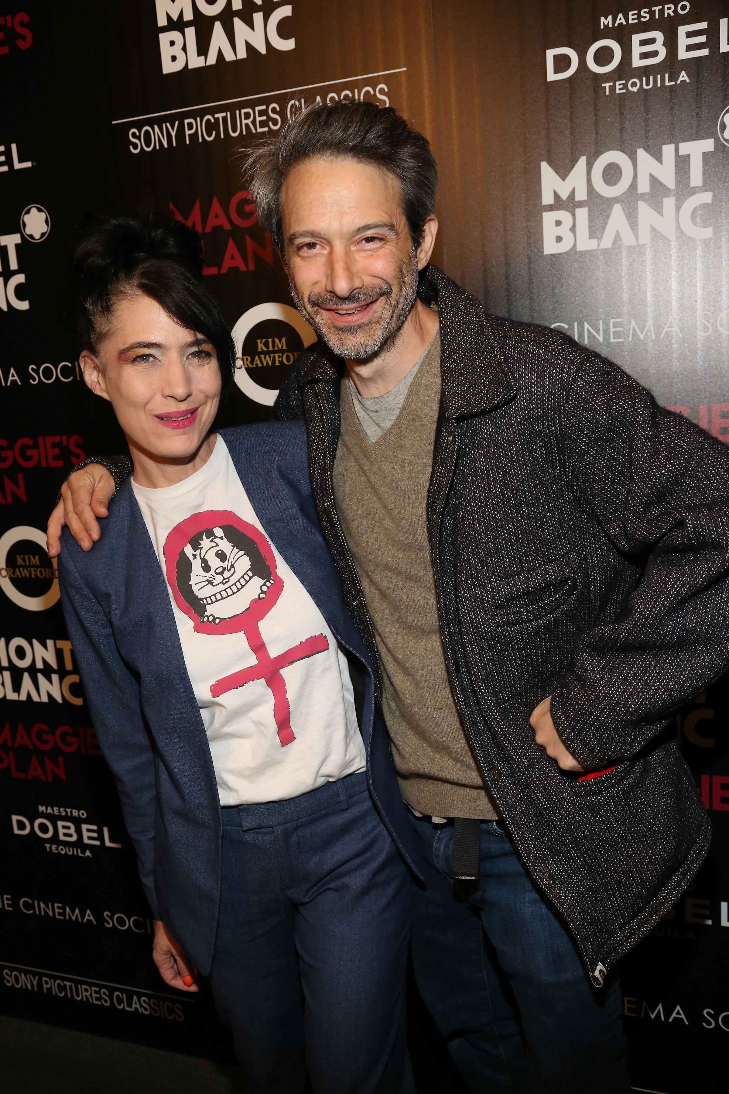 Kathleen Hanna Adam Horovitz Montblanc And The Cinema Society With Mastro Dobel