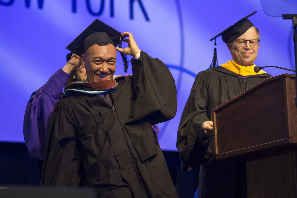 Fashion Institute of Technology 2016 graduation held at the Jacob Javits Center in New York on Thursday, May 19, 2016.
