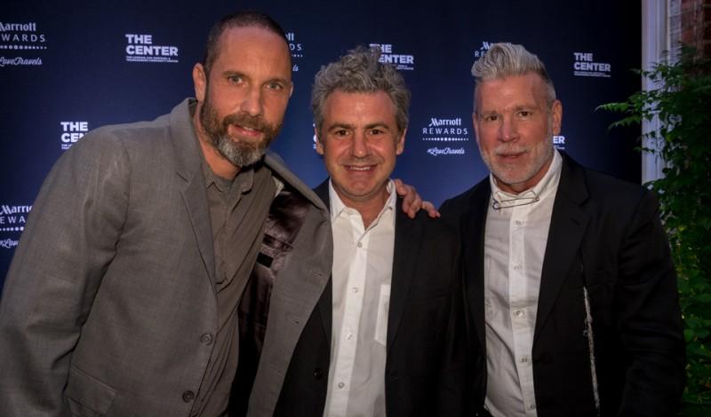 Alexis Bittar, Richard Sinott, Nick Wooster