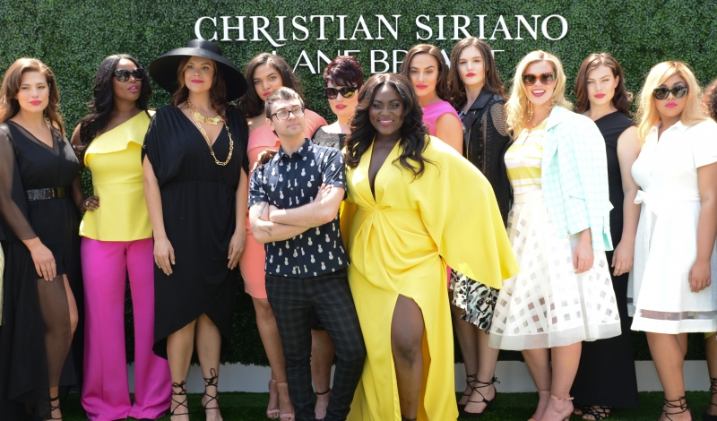 Ashley Graham, Christian Siriano, Danielle Brooks