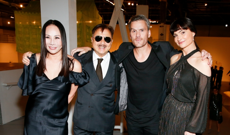 Eva Chow, Michael Chow, Lisa Love, Balthazar Getty, Rosetta Getty