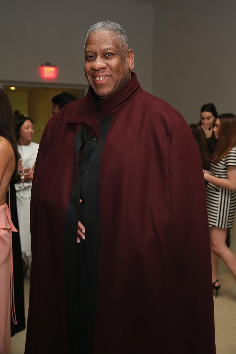 NEW YORK, NY - NOVEMBER 03:  Andre Leon Talley attends the 11th annual CFDA/Vogue Fashion Fund Awards at Spring Studios on November 3, 2014 in New York City.  (Photo by Neilson Barnard/Getty Images)