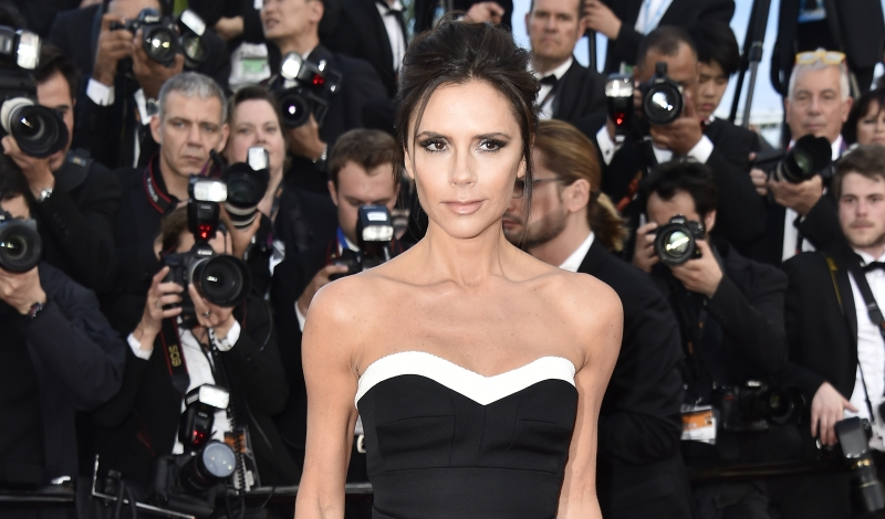 "CANNES, FRANCE - MAY 11:  Victoria Beckham attends the ""Cafe Society"" premiere and the Opening Night Gala during the 69th annual Cannes Film Festival at the Palais des Festivals on May 11, 2016 in Cannes, France.  (Photo by Pascal Le Segretain/Getty Images)"