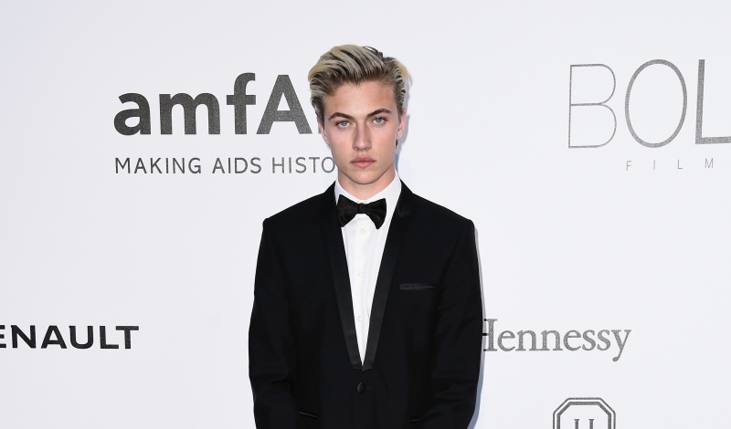 CAP D'ANTIBES, FRANCE - MAY 19:  Lucky Blue Smith arrives at amfAR's 23rd Cinema Against AIDS Gala at Hotel du Cap-Eden-Roc on May 19, 2016 in Cap d'Antibes, France.  (Photo by Ian Gavan/Getty Images)