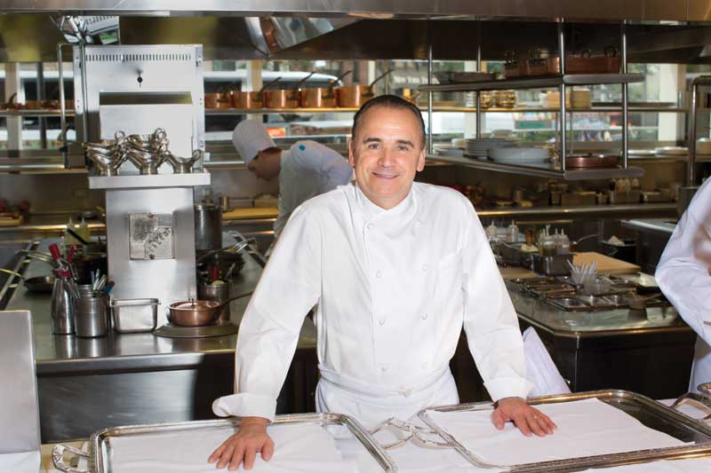 New in town jean georges heads to the east end daily for Abc kitchen restaurant week menu