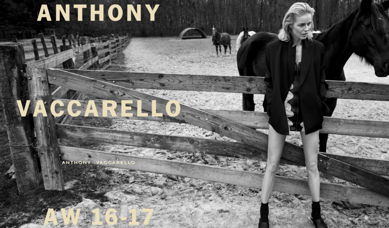 Anthony Vaccarello FW2016 ad campaign_doublespread