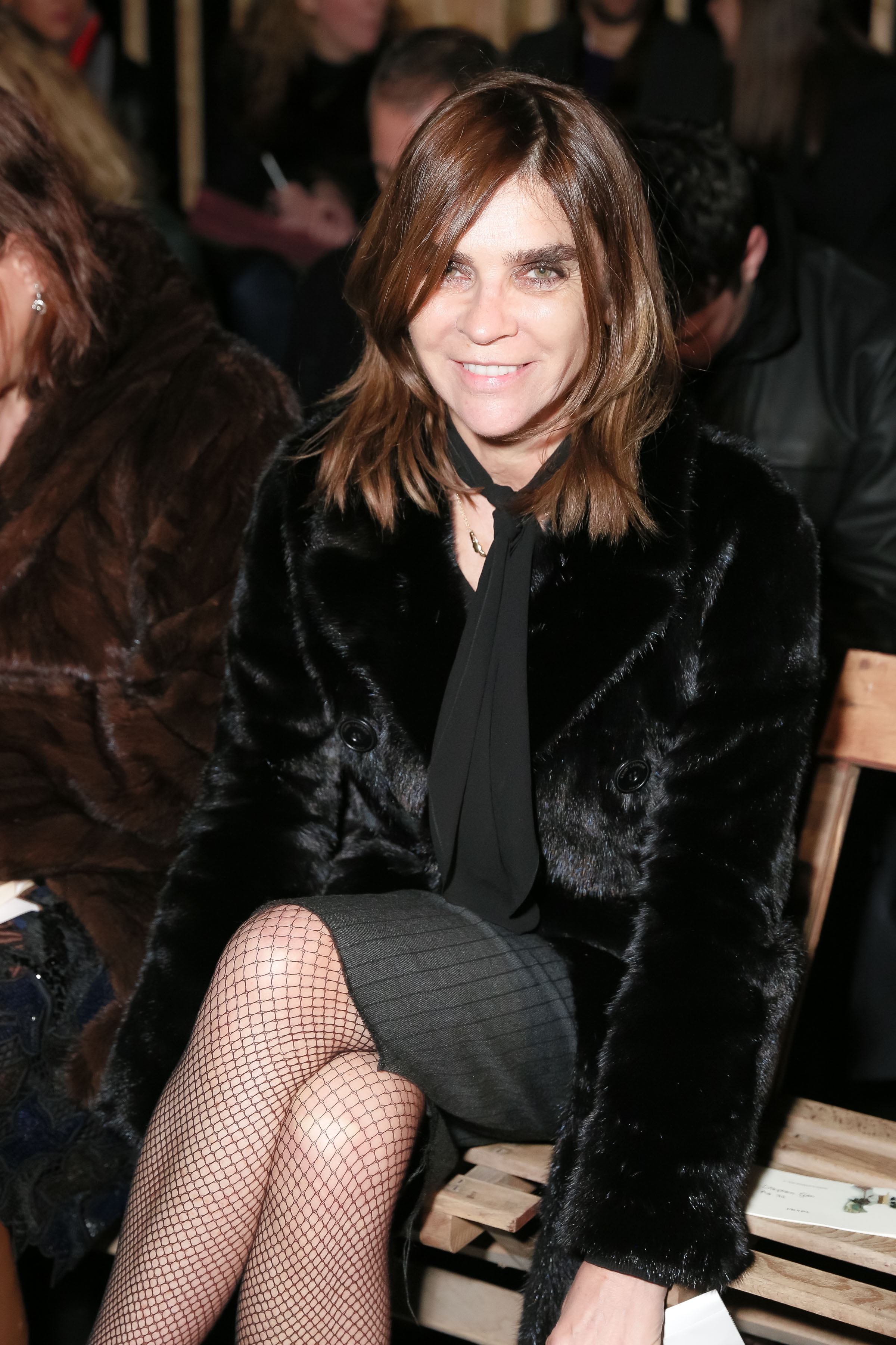 Details On Her 3 Shades Of: Details On Carine Roitfeld's Book Signing For CR Girls