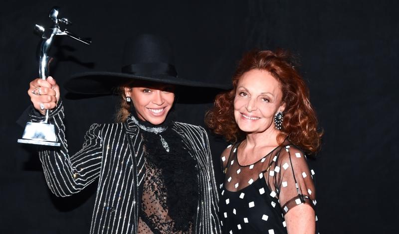 Beyoncé Knowles, Diane Von Furstenberg