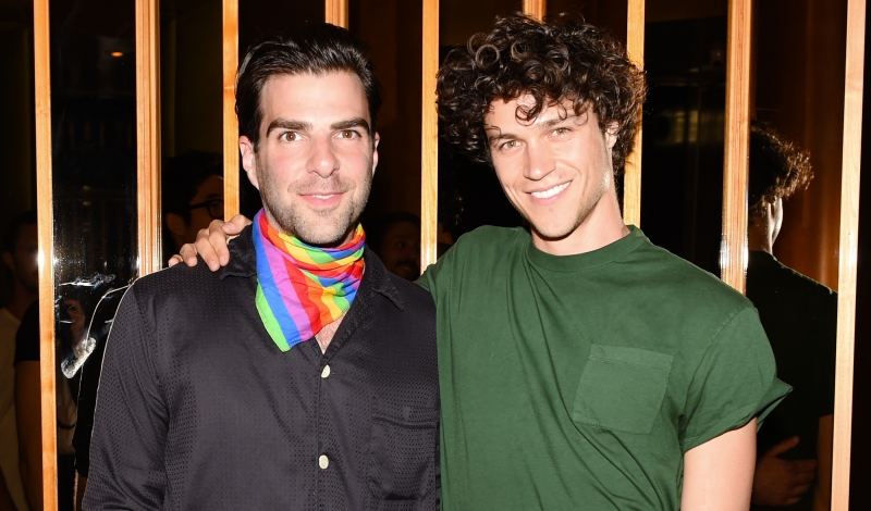 Zachary Quinto, Miles McMillan
