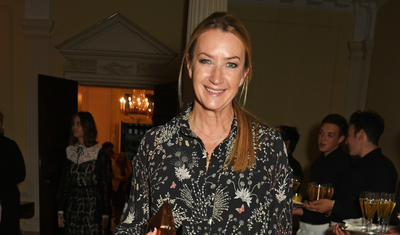 LONDON, ENGLAND - SEPTEMBER 18:  Anya Hindmarch attends the London Fashion Week party hosted by Ambassador Matthew Barzun and Mrs Brooke Brown Barzun with Alexandra Shulman, in association with J. Crew, at American Ambassadors Residence, Winfield House,Regents Park on September 18, 2015 in London, England.  (Photo by David M. Benett/Dave Benett/Getty Images)