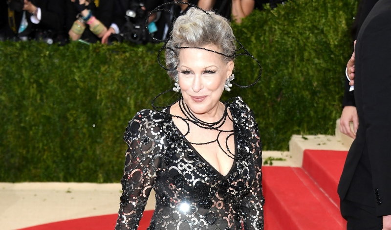 "NEW YORK, NY - MAY 02:  Bette Midler attends the ""Manus x Machina: Fashion In An Age Of Technology"" Costume Institute Gala at Metropolitan Museum of Art on May 2, 2016 in New York City.  (Photo by Venturelli/FilmMagic)"