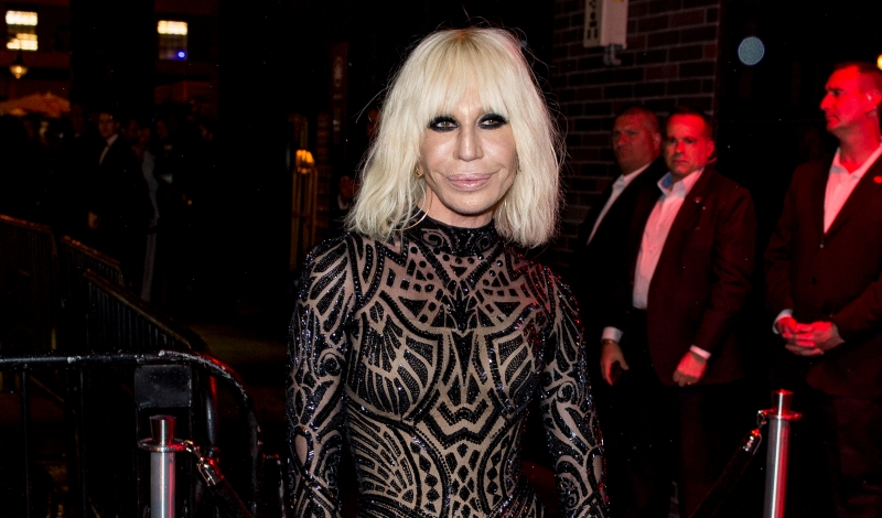 "NEW YORK, NY - MAY 02:  Donatella Versace attends the after Party at the Standard Hotel following ""Manus x Machina: Fashion In An Age Of Technology"" Costume Institute Gala on May 2, 2016 in New York City.  (Photo by Roy Rochlin/Getty Images)"