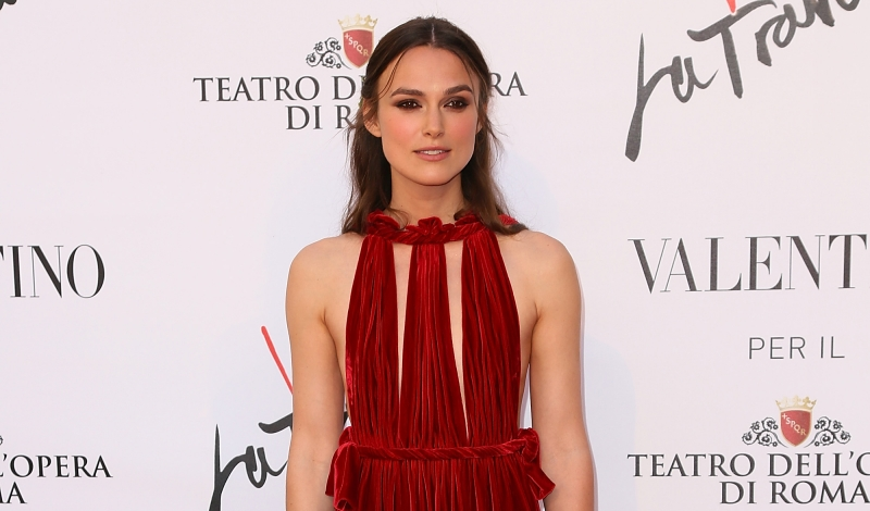 ROME, ITALY - MAY 22:  Keira Knightley attends the 'La Traviata' Premiere at Teatro Dell'Opera on May 22, 2016 in Rome, Italy.  (Photo by Ernesto Ruscio/Getty Images)