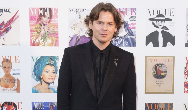 LONDON, ENGLAND - MAY 23:  Christopher Kane arrives for the Gala to celebrate the Vogue 100 Festival at Kensington Gardens on May 23, 2016 in London, England.  (Photo by Jeff Spicer/Getty Images)