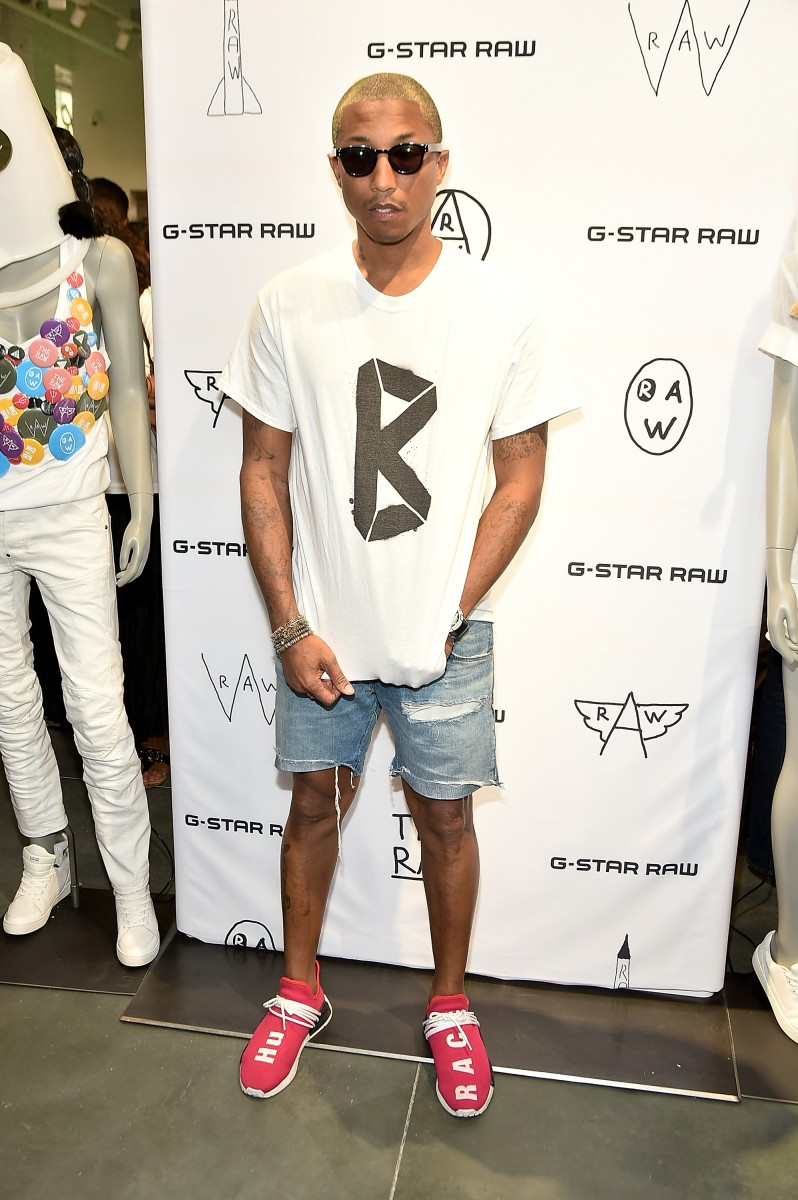 Pharrell Williams Shows Us G Star Raw S New 5th Ave Digs