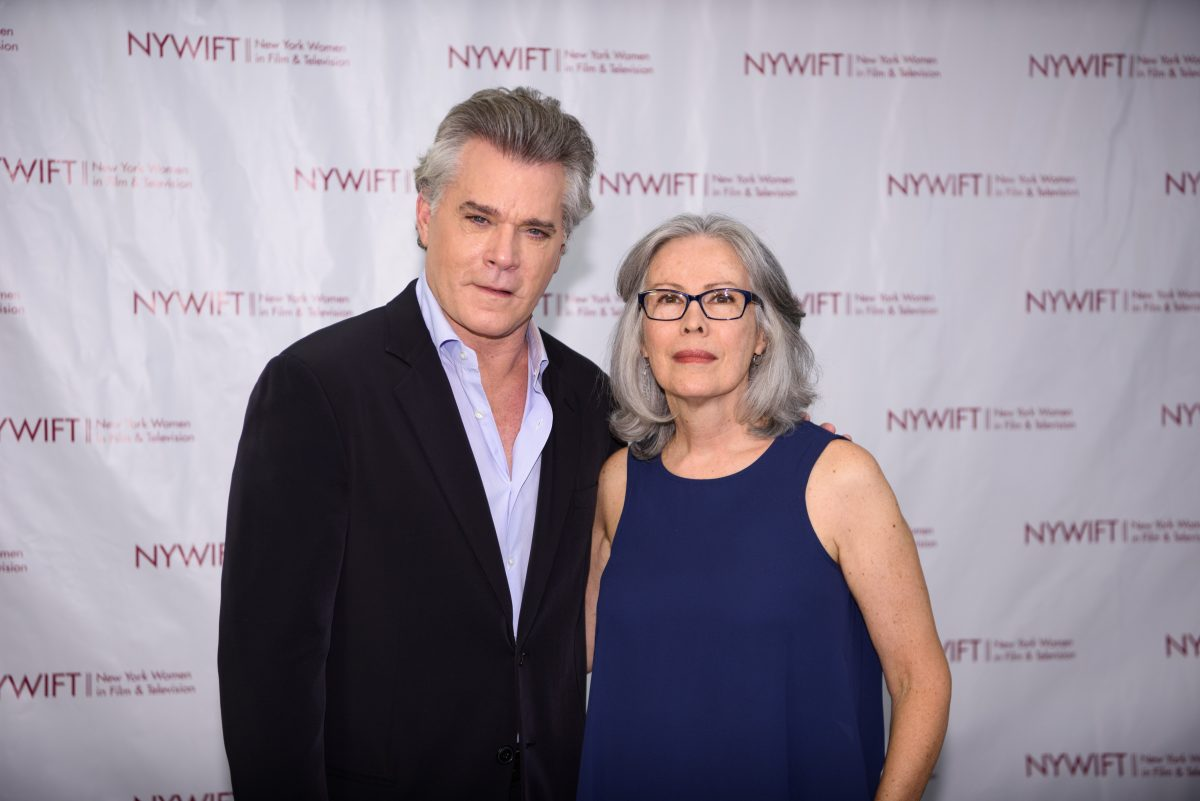 NEW YORK, NY - JUNE 13: Ray Liotta and Hair Stylist Rose Chatterton attends the 2016 New York Women In Film & Television's Designing Women Galaat CUNY Graduate Center on June 13, 2016 in New York City. (Photo by Dave Kotinsky/Getty Images)