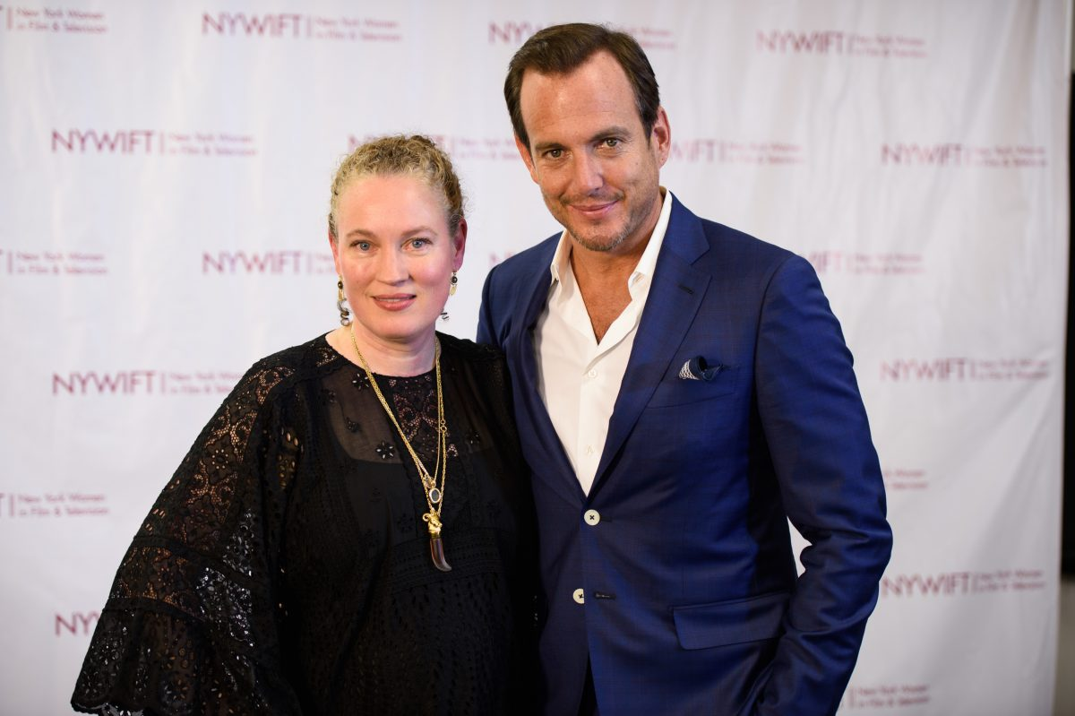 NEW YORK, NY - JUNE 13: Costumee Designer Sarah Edwards and Will Arnett attend the 2016 New York Women In Film & Television's Designing Women Galaat CUNY Graduate Center on June 13, 2016 in New York City. (Photo by Dave Kotinsky/Getty Images)