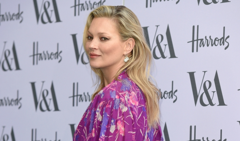 LONDON, ENGLAND - JUNE 22:  Kate Moss arrives for the V&A Summer Party at Victoria and Albert Museum on June 22, 2016 in London, England.  (Photo by Karwai Tang/WireImage)