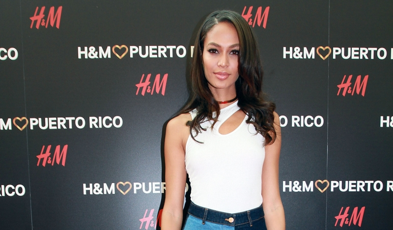 SAN JUAN, PUERTO RICO - JUNE 09:  Joan Smalls attends the H&M Puerto Rico Opening Day on June 9, 2016 in San Juan, Puerto Rico.  (Photo by GV Cruz/Getty Images for H&M)