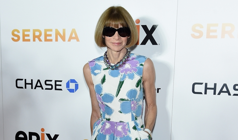 "NEW YORK, NY - JUNE 13:  Anna Wintour attends the Premiere Of EPIX Original Documentary ""Serena""  at SVA Theatre on June 13, 2016 in New York City.  (Photo by Jamie McCarthy/Getty Images)"