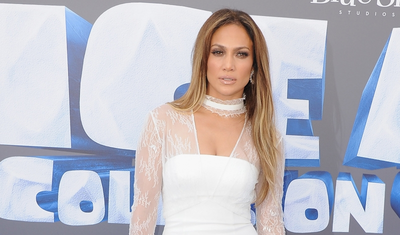"LOS ANGELES, CA - JULY 16:  Actress Jennifer Lopez arrives at the screening Of ""Ice Age: Collision Course"" at Zanuck Theater at 20th Century Fox Lot on July 16, 2016 in Los Angeles, California.  (Photo by Jon Kopaloff/FilmMagic)"