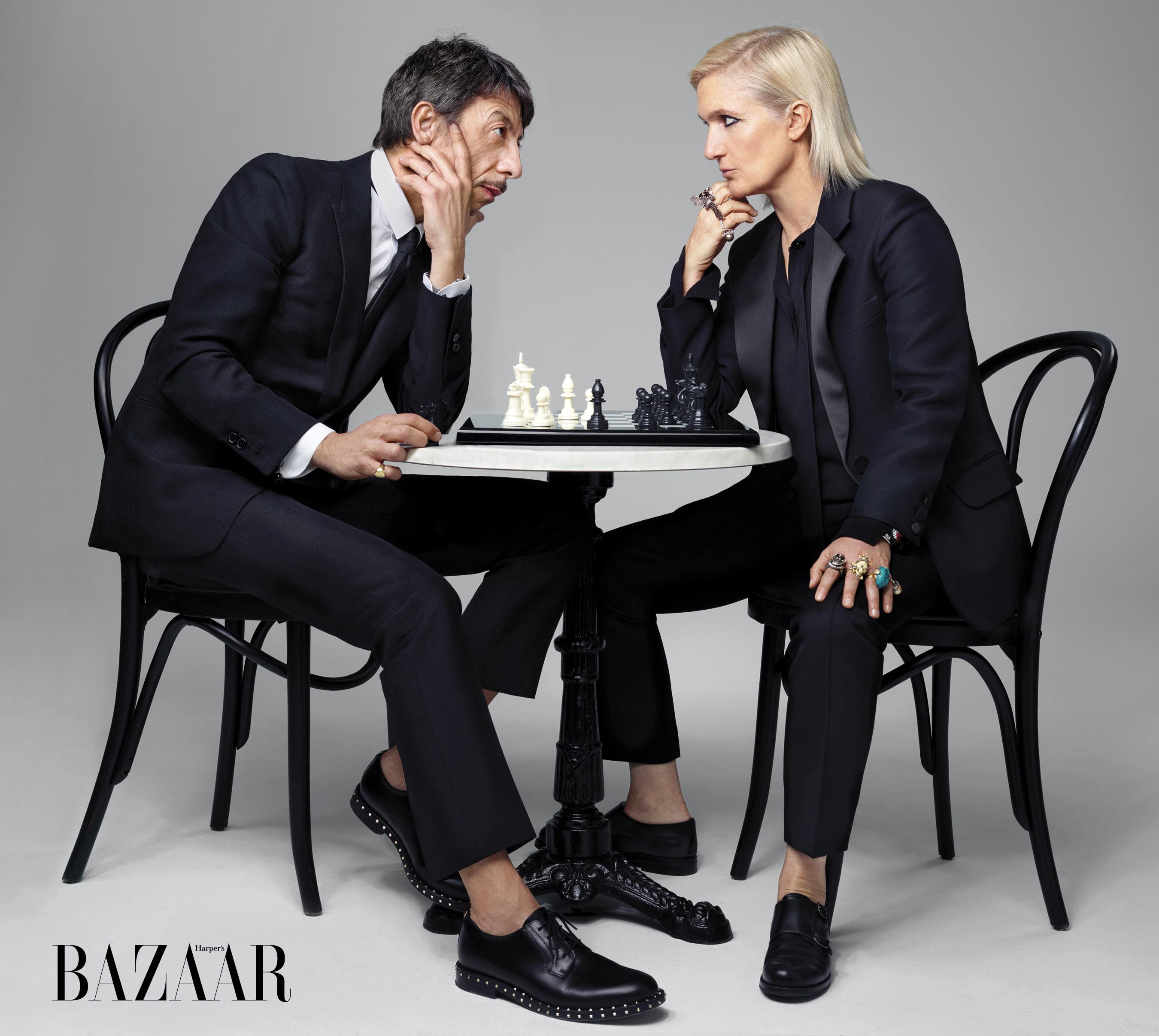 e2b3ac96991 Maria Grazia Chiuri and Pierpaolo Piccioli s Revealing Interview in  Harper s Bazaar